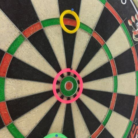 Red Dragon - Peter Wright - Practice Rings