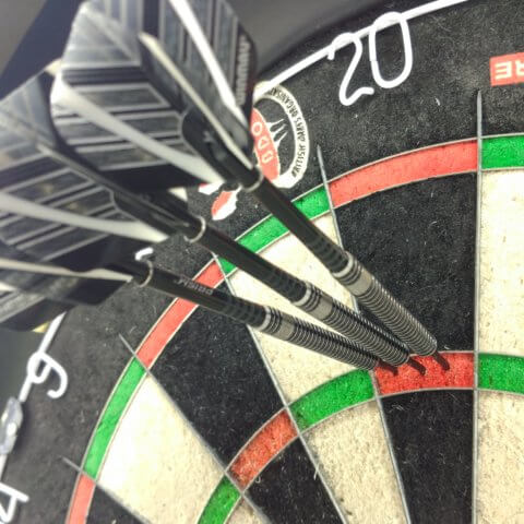 Winmau Blackout Steeldarts