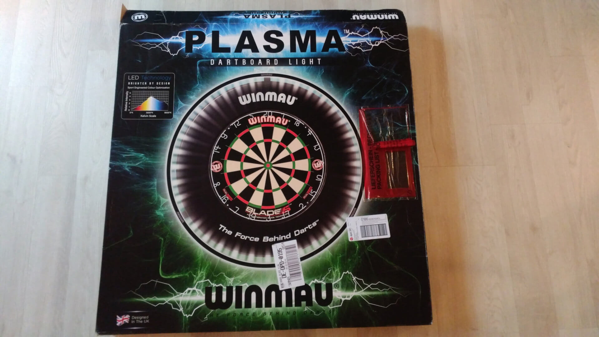Winmau - Plasma Dartboard light 4300