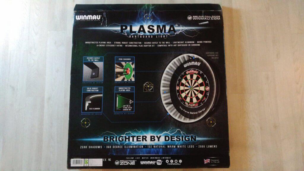 Winmau Plasma Dartboard Beleuchtung