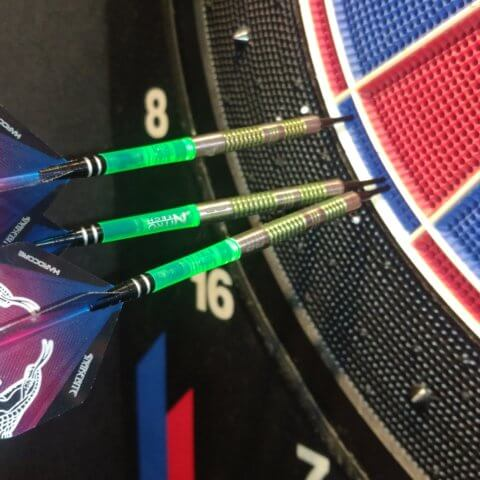 Red Dragon Peter Wright Mamba Softdarts