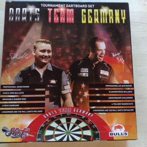 Team Germany Darts Set