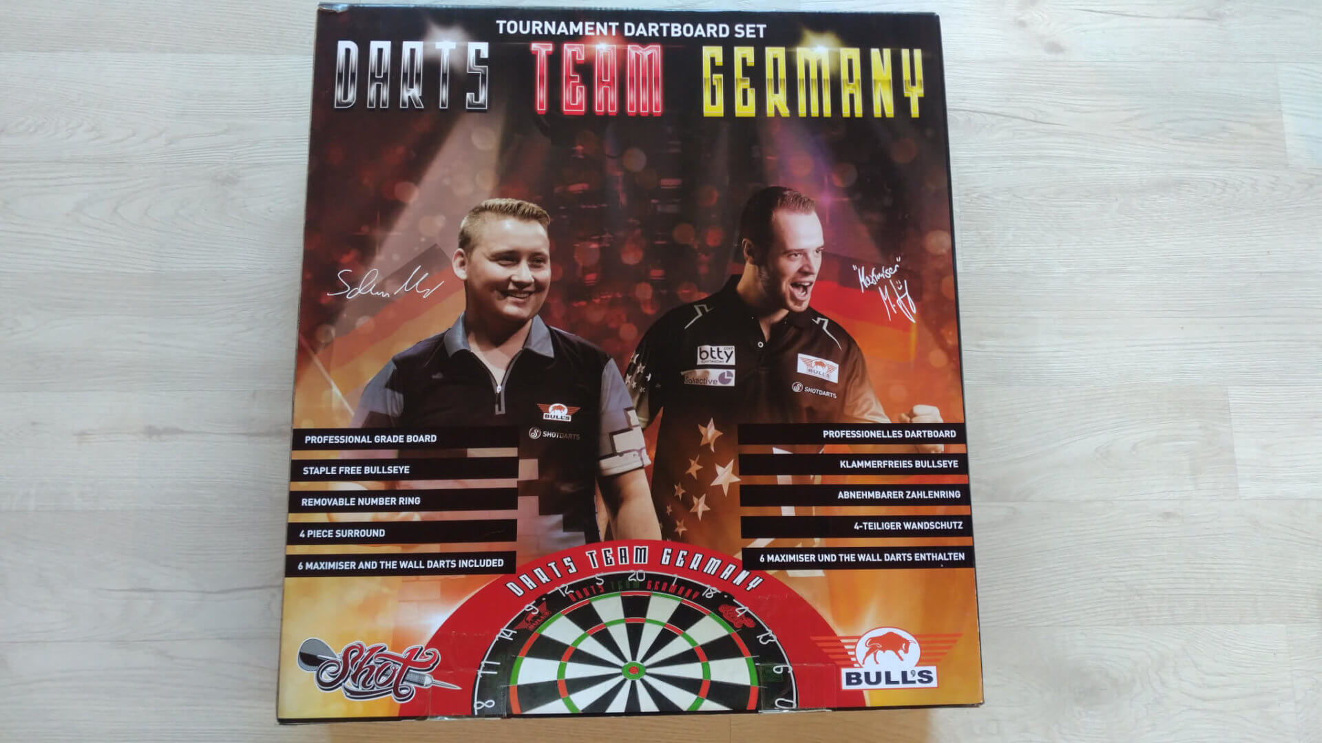 Bull's NL - Team Germany Darts Set