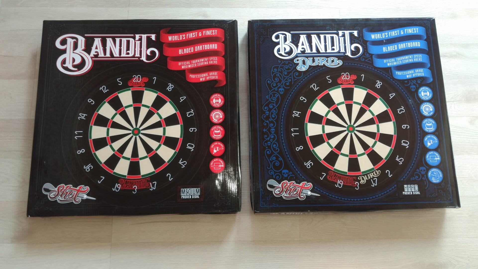 Shot! Bandit & Shot! Bandit Duro Dartboards im Test