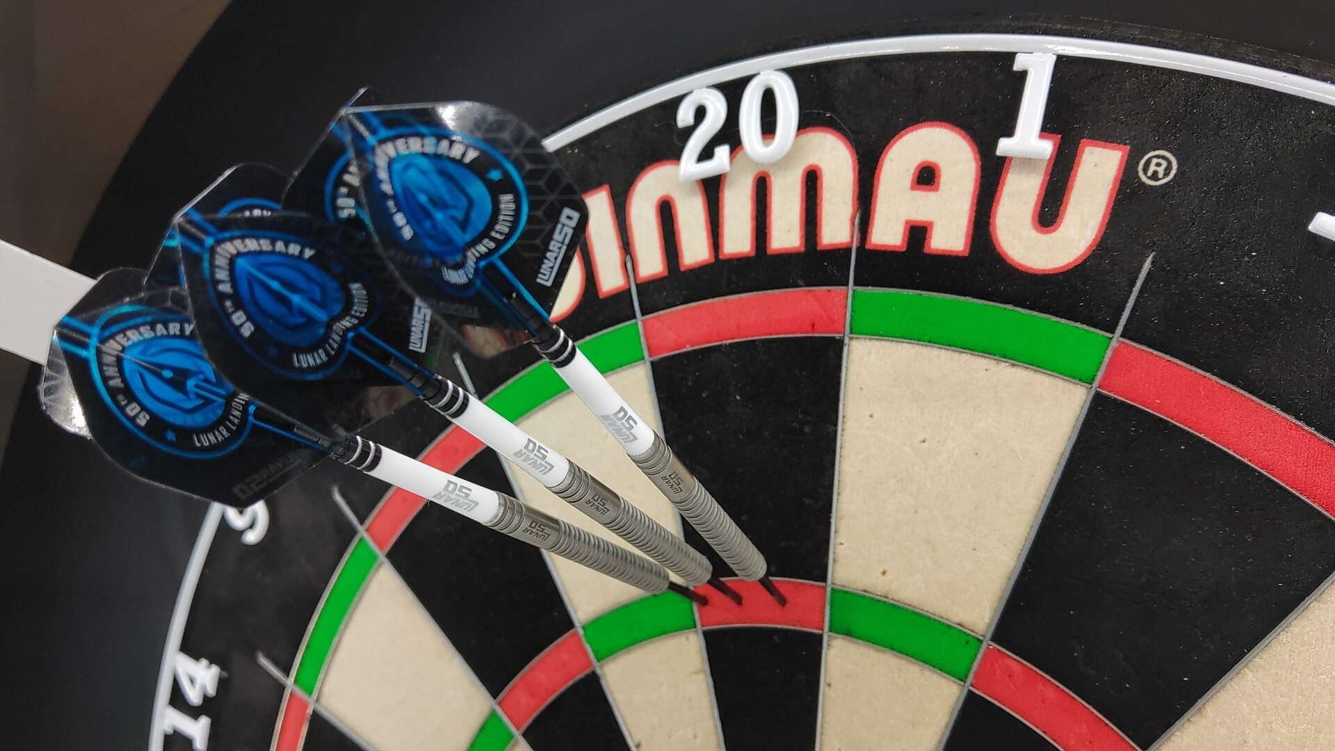 Red Dragon Lunar 50 Jamie Hughes Steeldarts