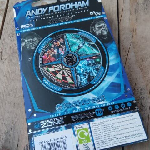 Winmau Andy Fordham Special Edition Steeldarts