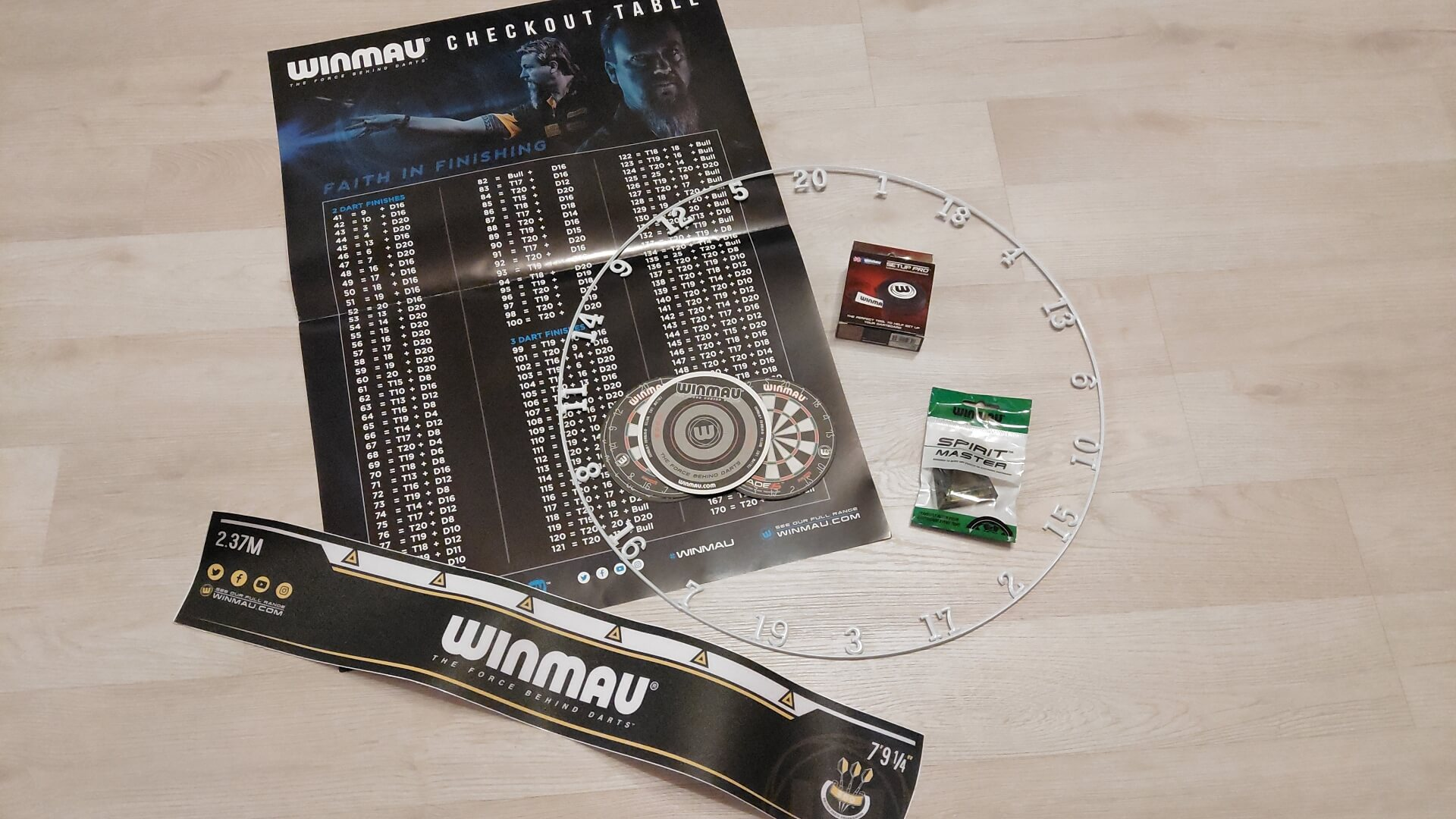 Winmau Dartzone Upgrade Kit
