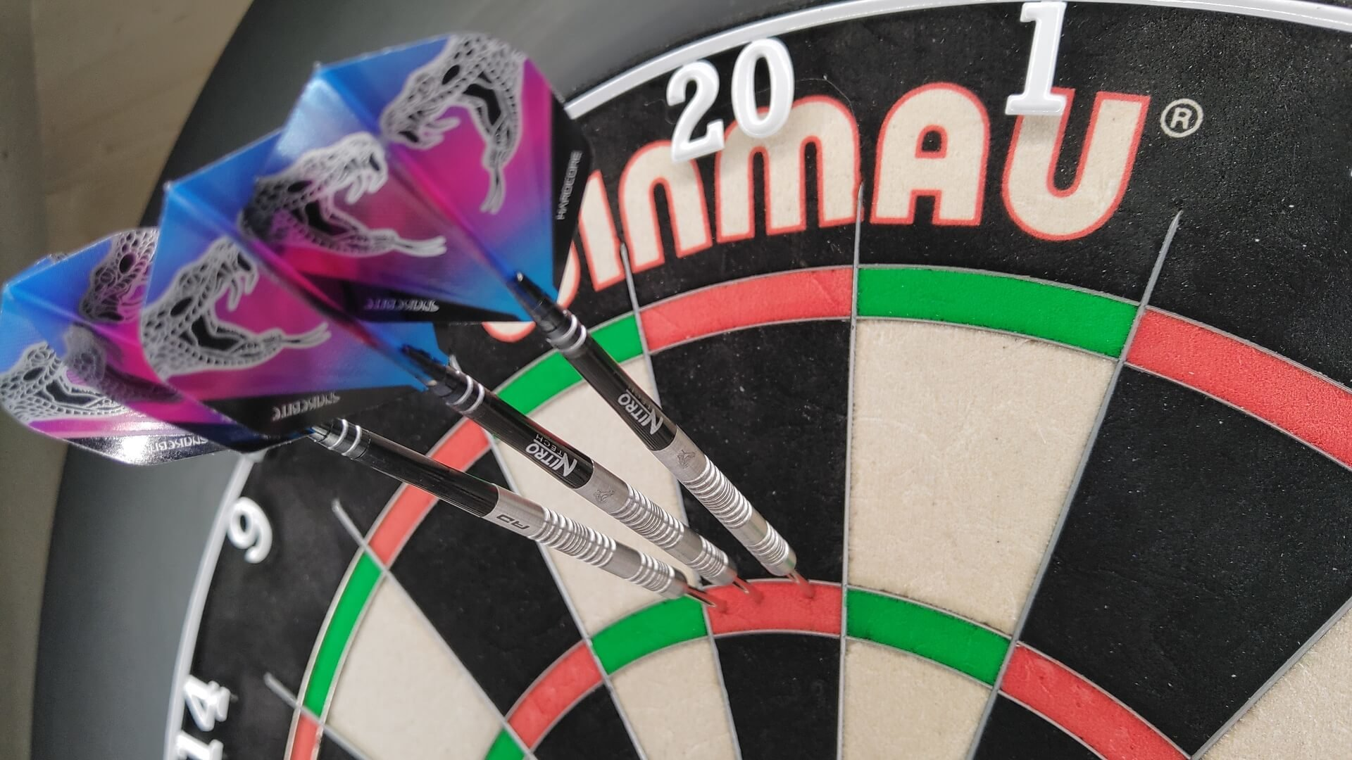RD Peter Wright Euro 11 Steeldarts