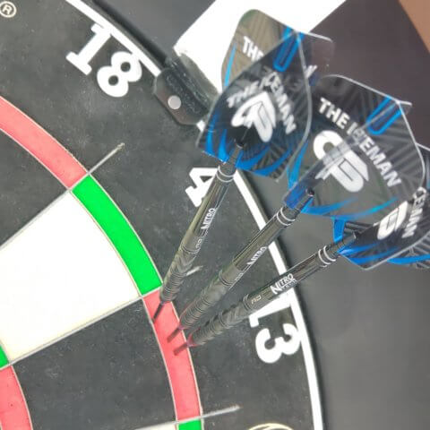 Red Dragon Gerwyn Price Black Steeldarts