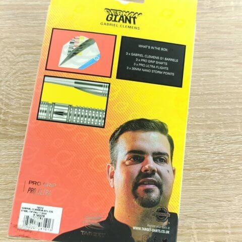 Target Gabriel Clemens Steeldarts